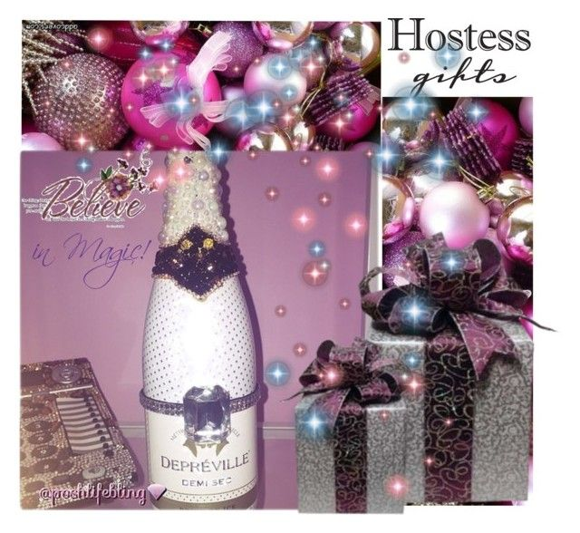 """""""The Ultimate Hostess Gift"""" by poshtori on Polyvore featuring interior, interiors, interior design, home, home decor, interior decorating, Hostess, holidays, hostessgifts and PoshLifeBling"""