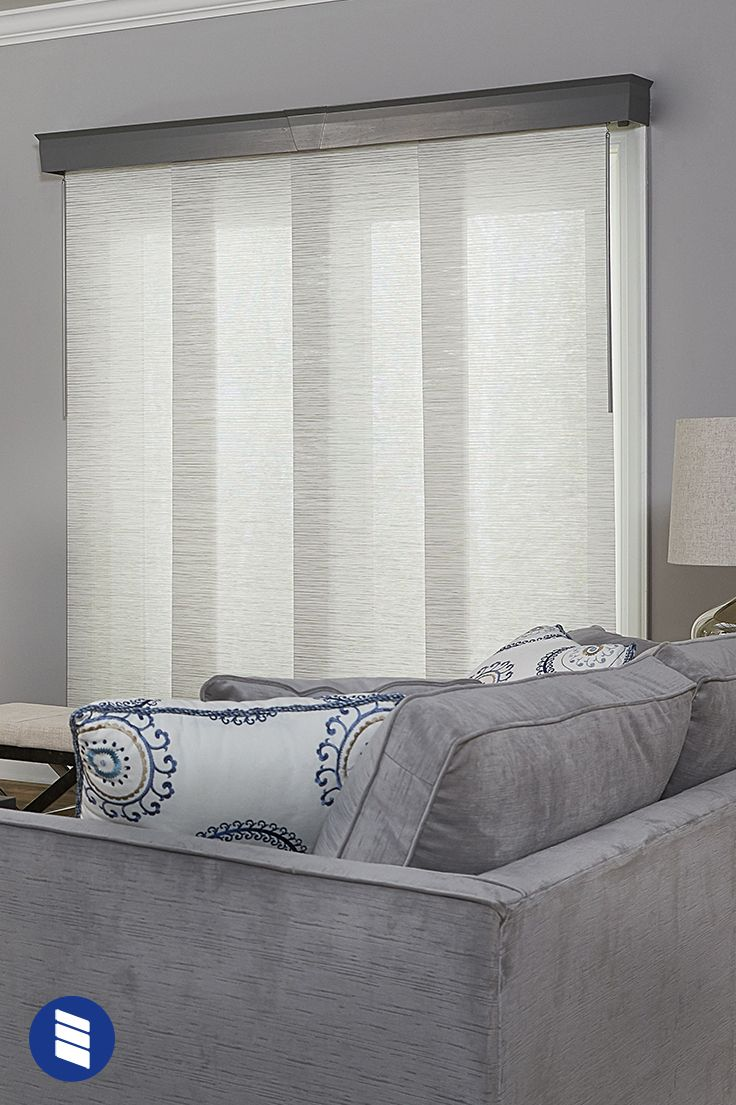 If You Need Shades For Your Sliding Glass Door Vertical Blinds Aren T The O Sliding Door Blinds Sliding Glass Door Window Treatments Sliding Glass Door Blinds