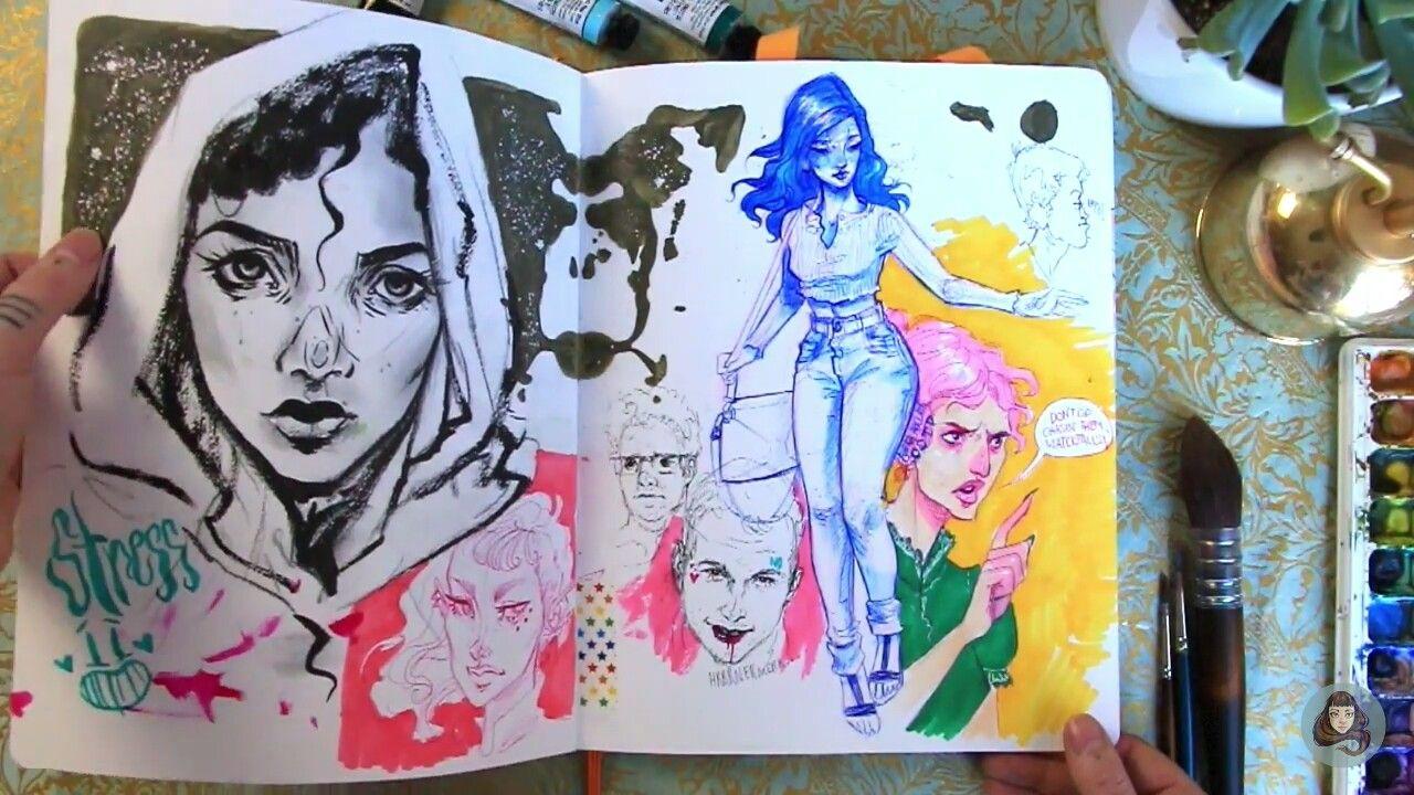 Pin By Gn On Art Sketch Book Sketchbook Tour Art Inspiration