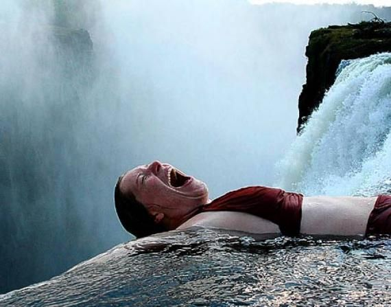Devil 39 s swimming pool places spaces to be in see pinterest victoria falls swimming for Tallest swimming pool in the world