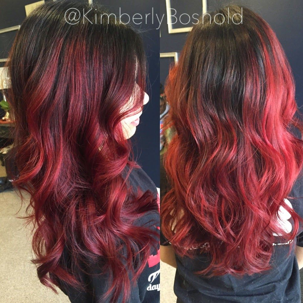 Color Correction Before Washed Out Red After Dark Neutral Brown