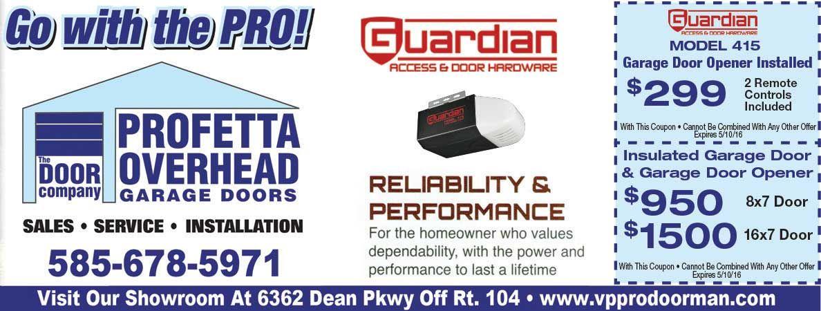 Profetta Overhead Doors Will Help You Save On Your Garage Door