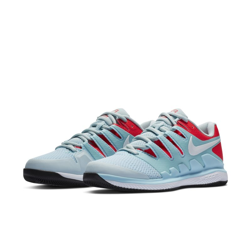 Nikecourt Air Zoom Vapor X Women S Hard Court Tennis Shoe Blue Shoes Womens Tennis Shoes Tennis Shoes