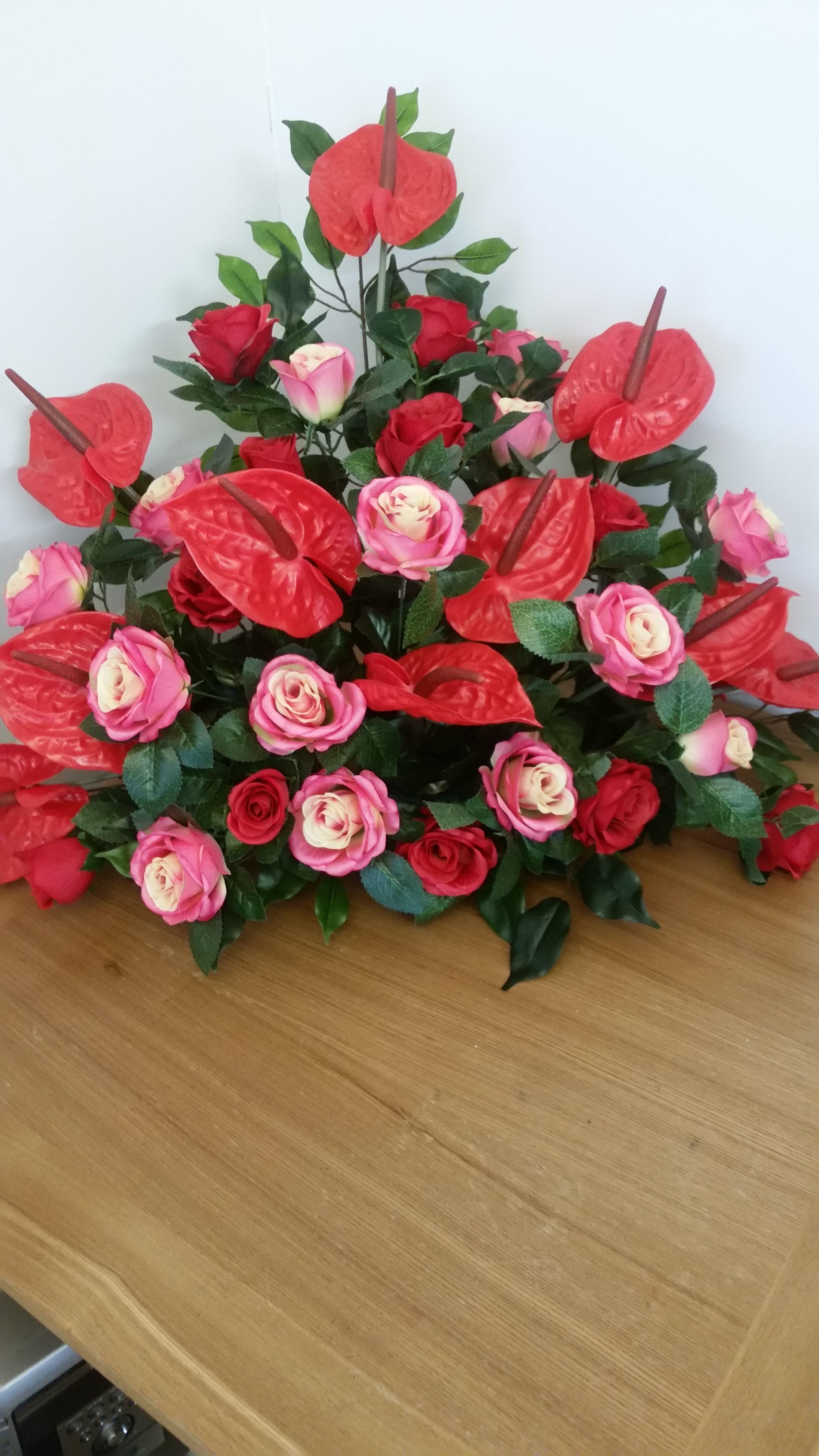 Silk flowers for hire crimson rose weddings pinterest rose silk flowers for hire mightylinksfo