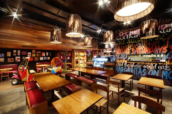 Bbq restaurant interior design ideas home