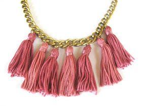 Thanks, I Made It : DIY Tassel Necklace