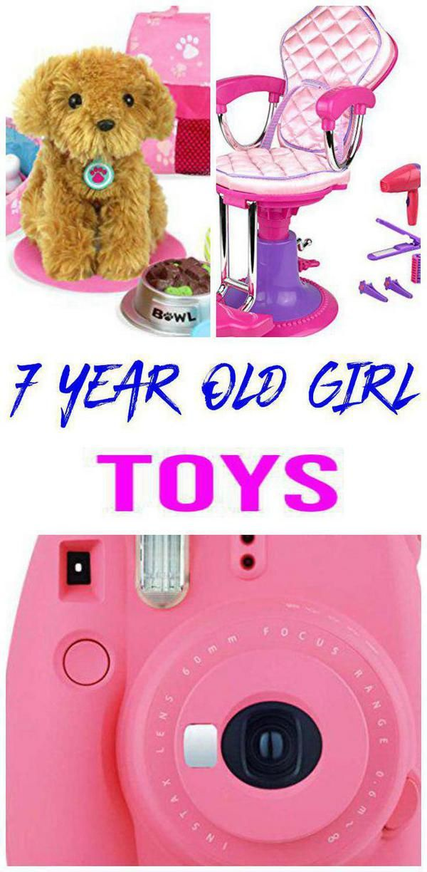 Best Toys for 7 Year Old Girls (With images) | Cool toys ...