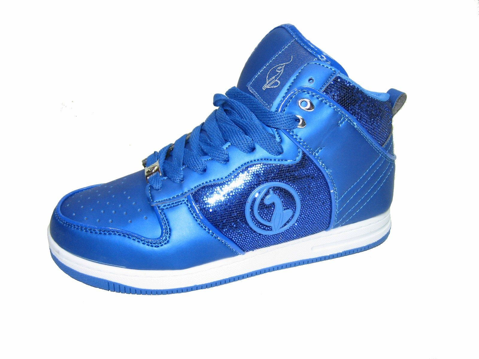 Baby Phat Gina women's athletic comfort flats lace up high top sneakers $36.99 Puddycatshoes.com