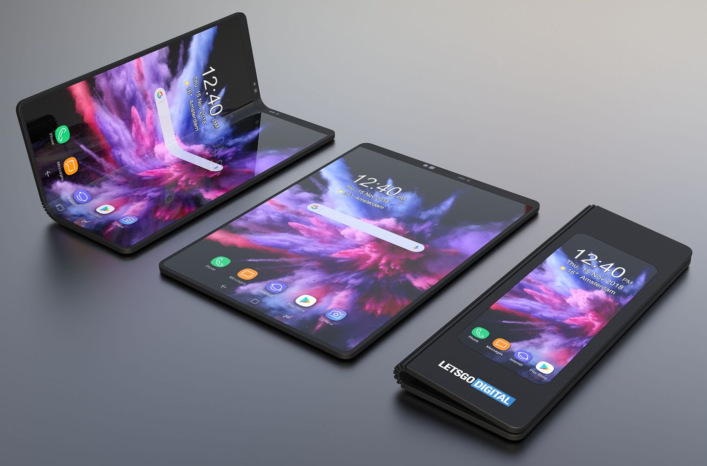 That Galaxy foldable without its boxy camouflage may look