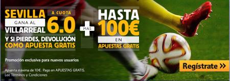 el forero jrvm y todos los bonos de deportes: betfair Sevilla vs Villareal supercuota europa lea...