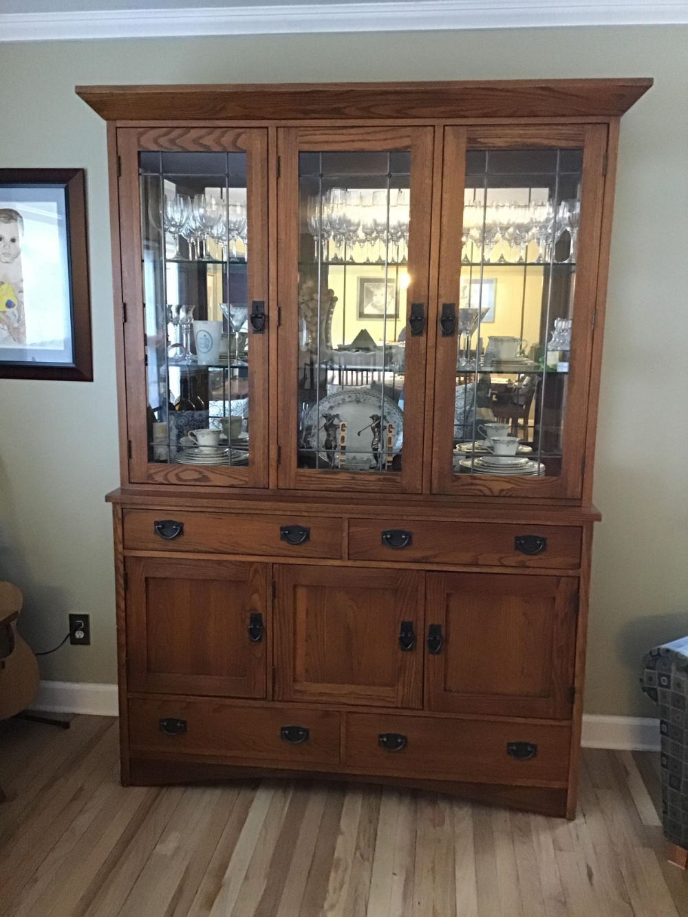Thomasville Mission Arts Crafts China Cabinet China Cabinet Thomasville Cabinet