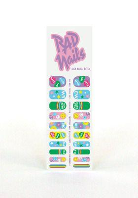 Rad+Nails+Nail+Wraps+Sick+Nails,+Betch