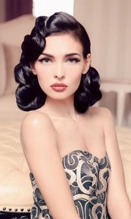 Vintage Hairstyles for Short Hair 2017