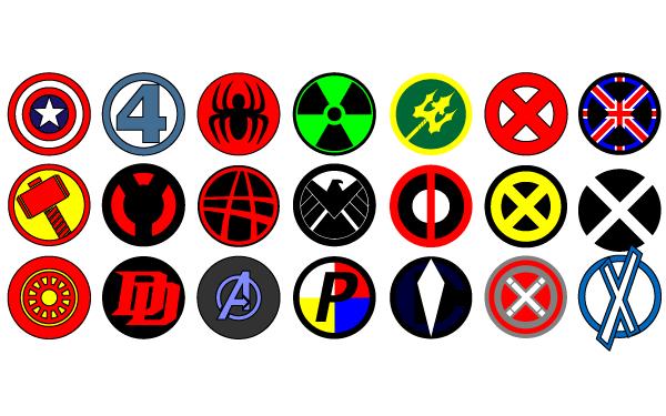 Vector Marvel Logos Marvel Logo Avengers Symbols Avengers Logo