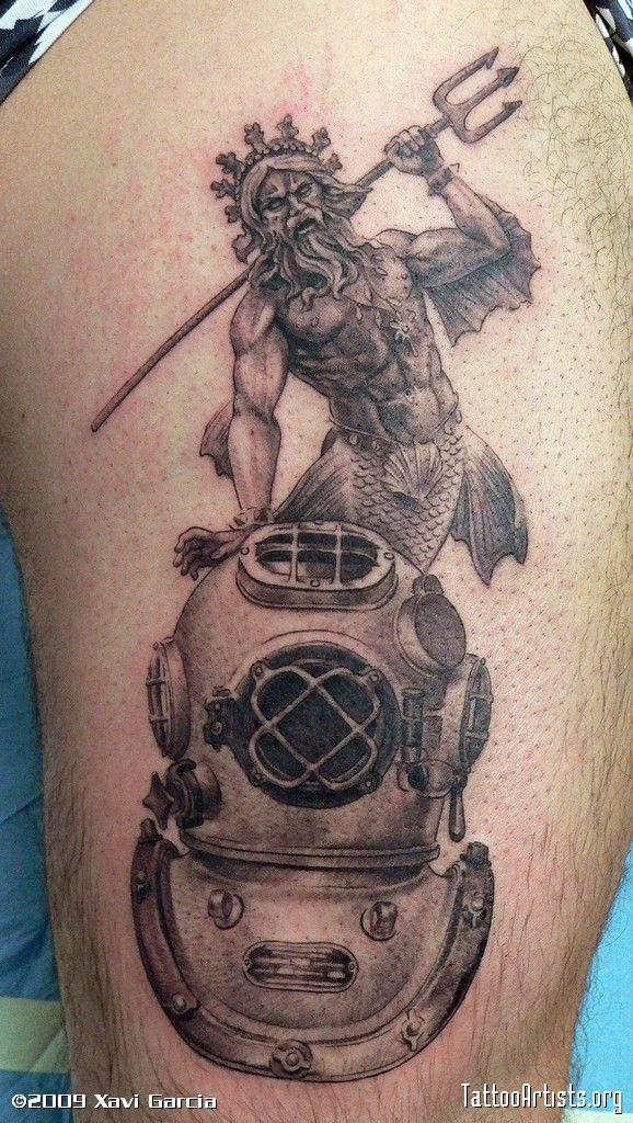 2 Special Physical Features Diver Tattoo New Character
