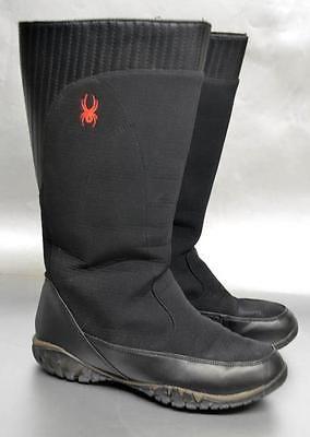 Spyder ACS Black Winter Boots Womens 7 EUC