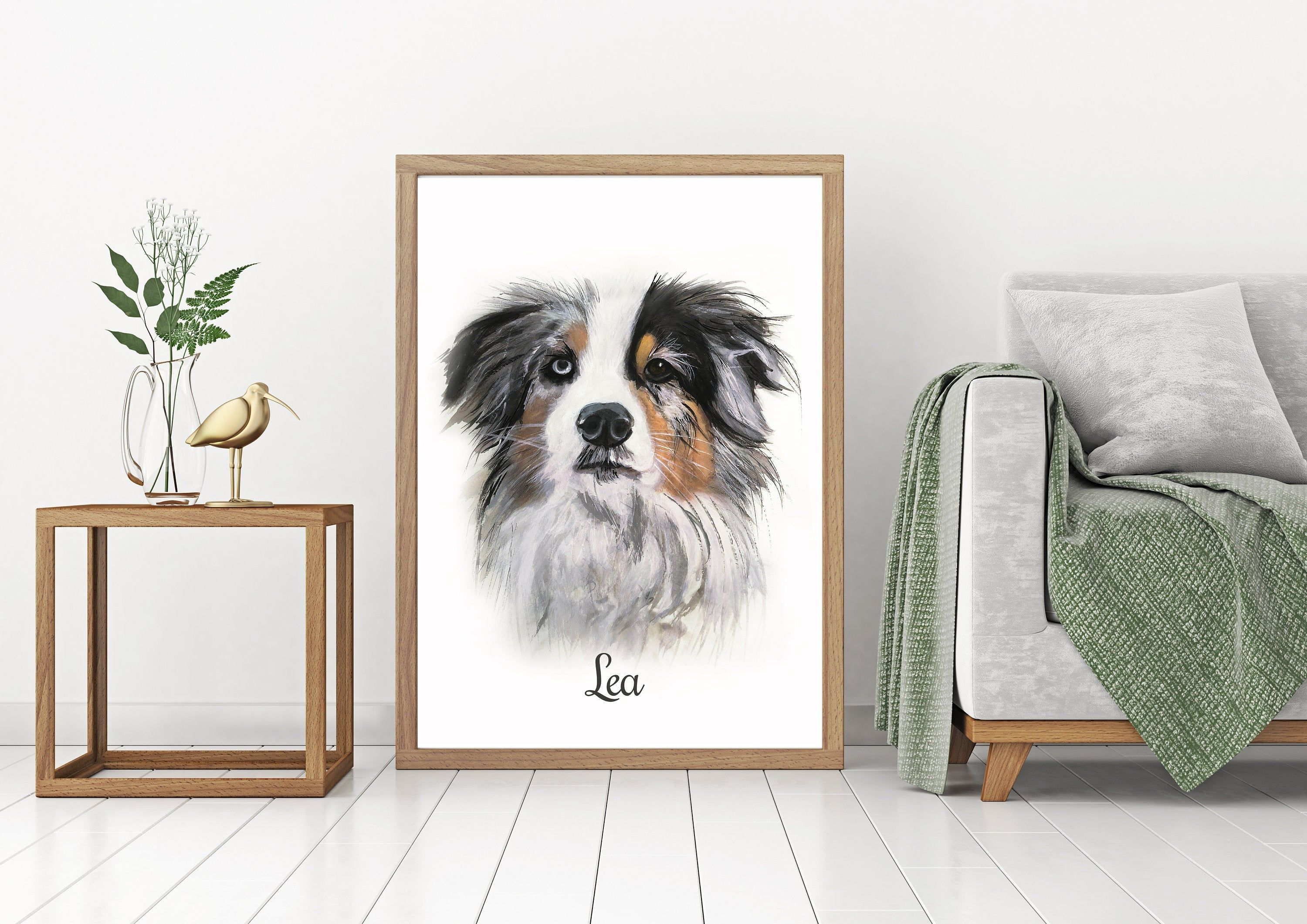 Dog Painting Dog Portrait Watercolor Dog Custom Dog Portrait Handpainted Custom Dog Paint Your Dog Dog Custom Dog Portraits Custom Cat Portrait Watercolor Dog