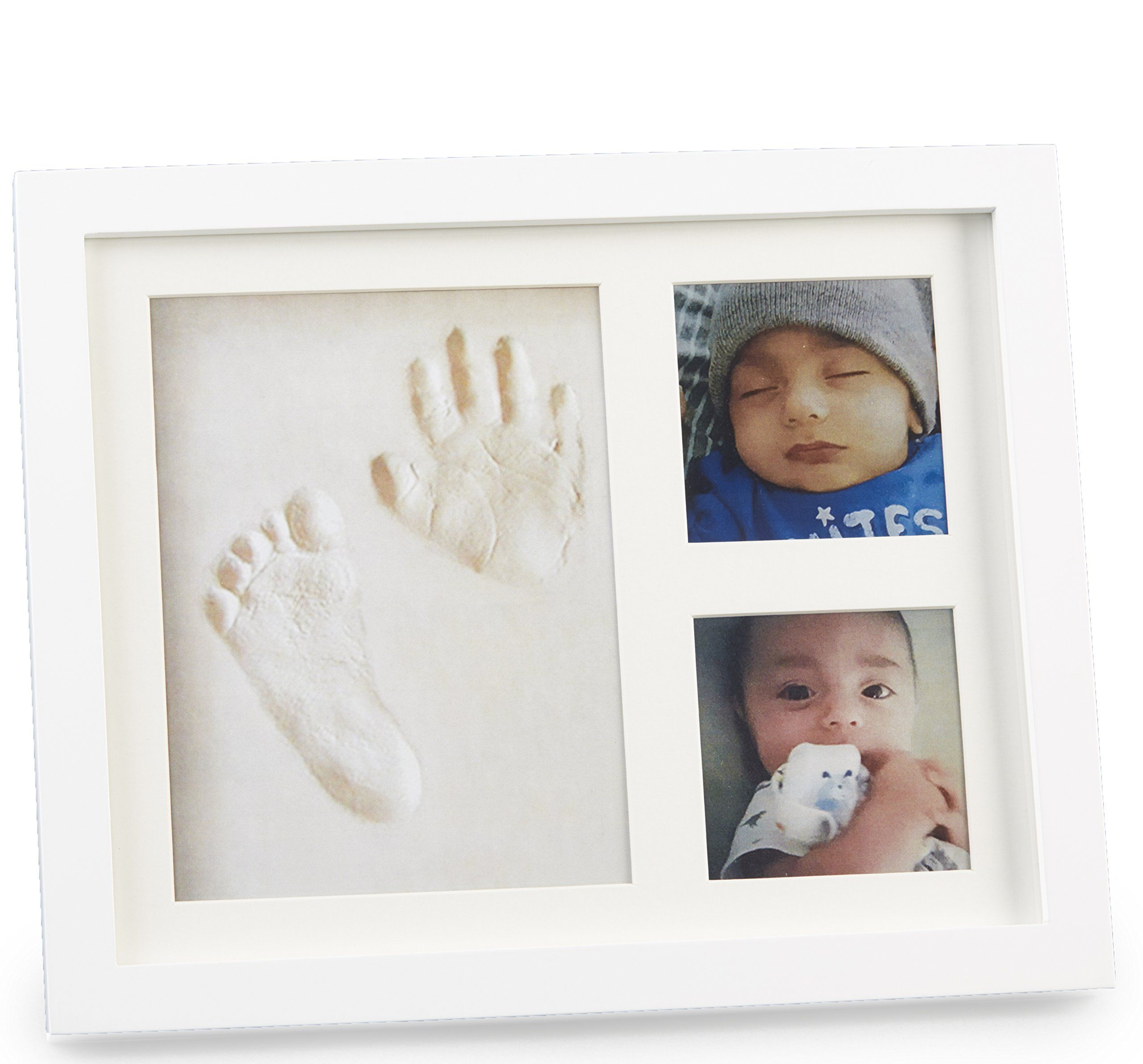 Baby Gift Hand & Footprint Personalized Picture Frame Keepsake for ...
