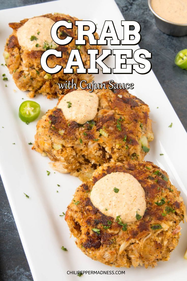 Crab Cakes with Creamy Cajun Sauce