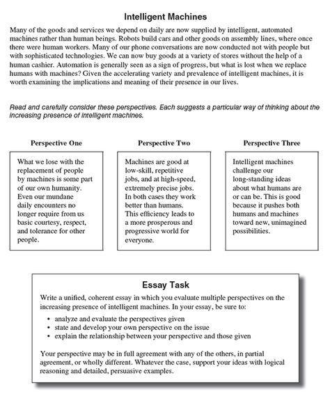 act sample essay