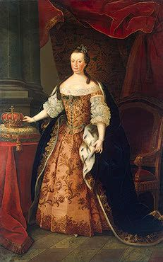 Portrait of Marianna Victoria, Queen of Portugal, by Miguel Antonio Amaral, Portugal 1773, State Hermitage Museum, Russia