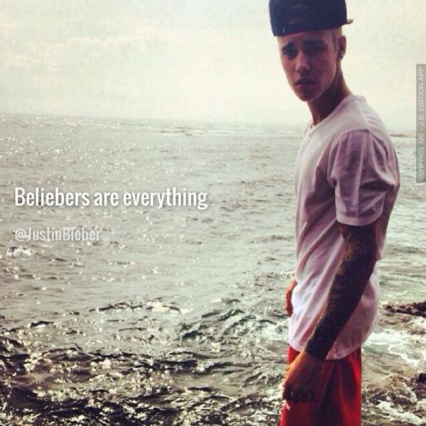 Very nice poster by Maria! (created with Surprise Me - Justin Bieber Edition App, available on iTunes.)