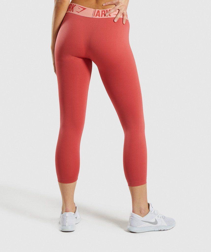 97c90c33626ed6 Gymshark Fit Cropped Leggings - Orange in 2019   18th birthday ...