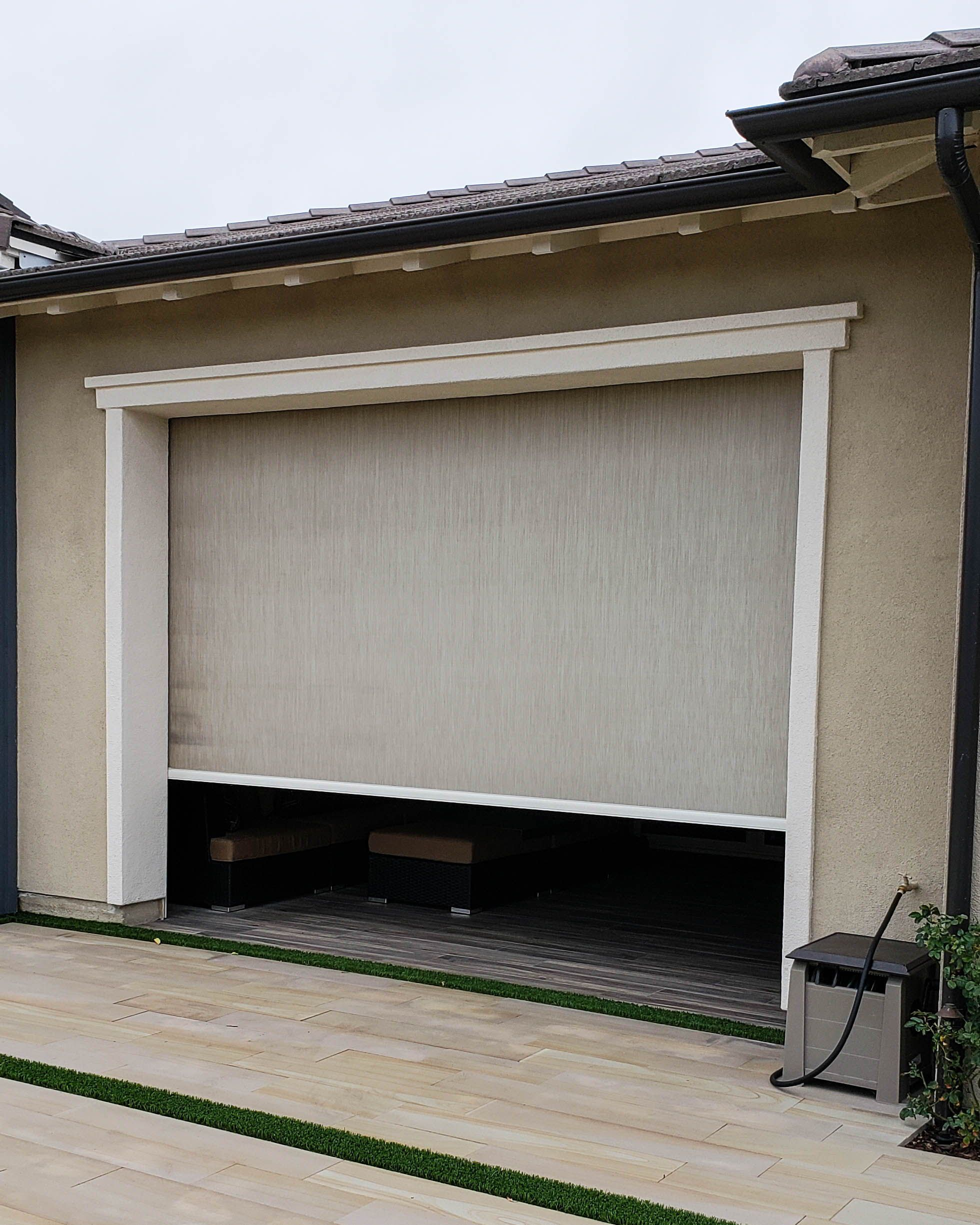 We Install Motorized Power Screens In Rancho Mission Viejo California In Orange County We Ve Been Installi California Room Rancho Mission Viejo New Community