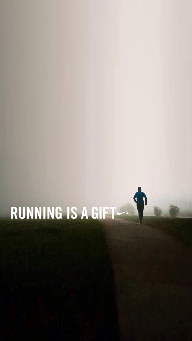Running Is A Gift Fitness Wallpaper Fitness Wallpaper Iphone Fitness Motivation Wallpaper