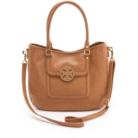 9af6afcaebbad NWT Tory burch Amanda hobo in royal tan Beautiful buttery soft leather.  Removable crossbody strap Tory Burch Bags Crossbody Bags