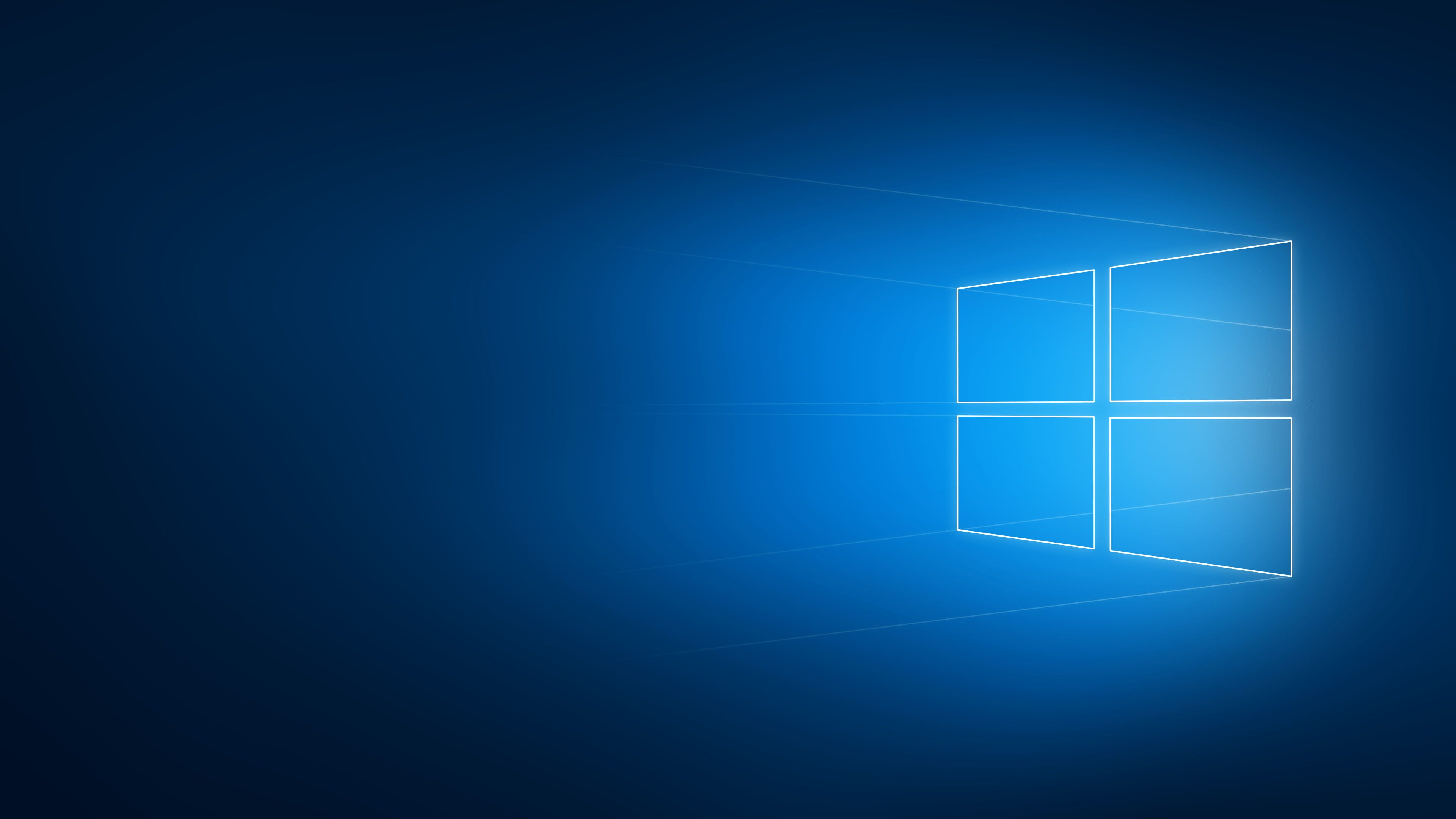 Windows Logo Windows 10 Logo Minimalism Blurred Geometry Operating System Microsoft Windows 4k Minimalist Wallpaper System Wallpaper 3840x2160 Wallpaper