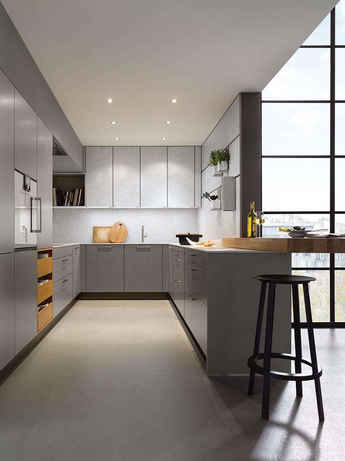 Modern   Kitchen   Decor   Grey Kitchen   Next 20 German Kitchens ...