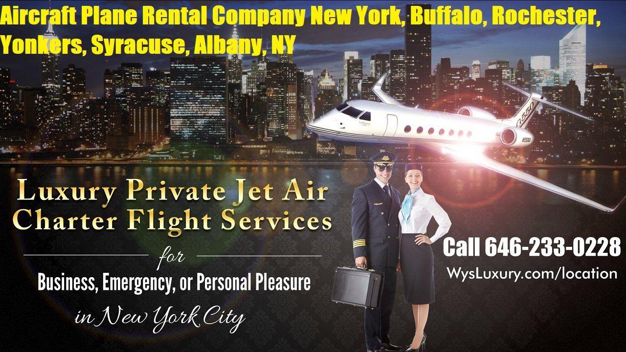 Private Jet Charter Flight Buffalo, NY Plane Rental