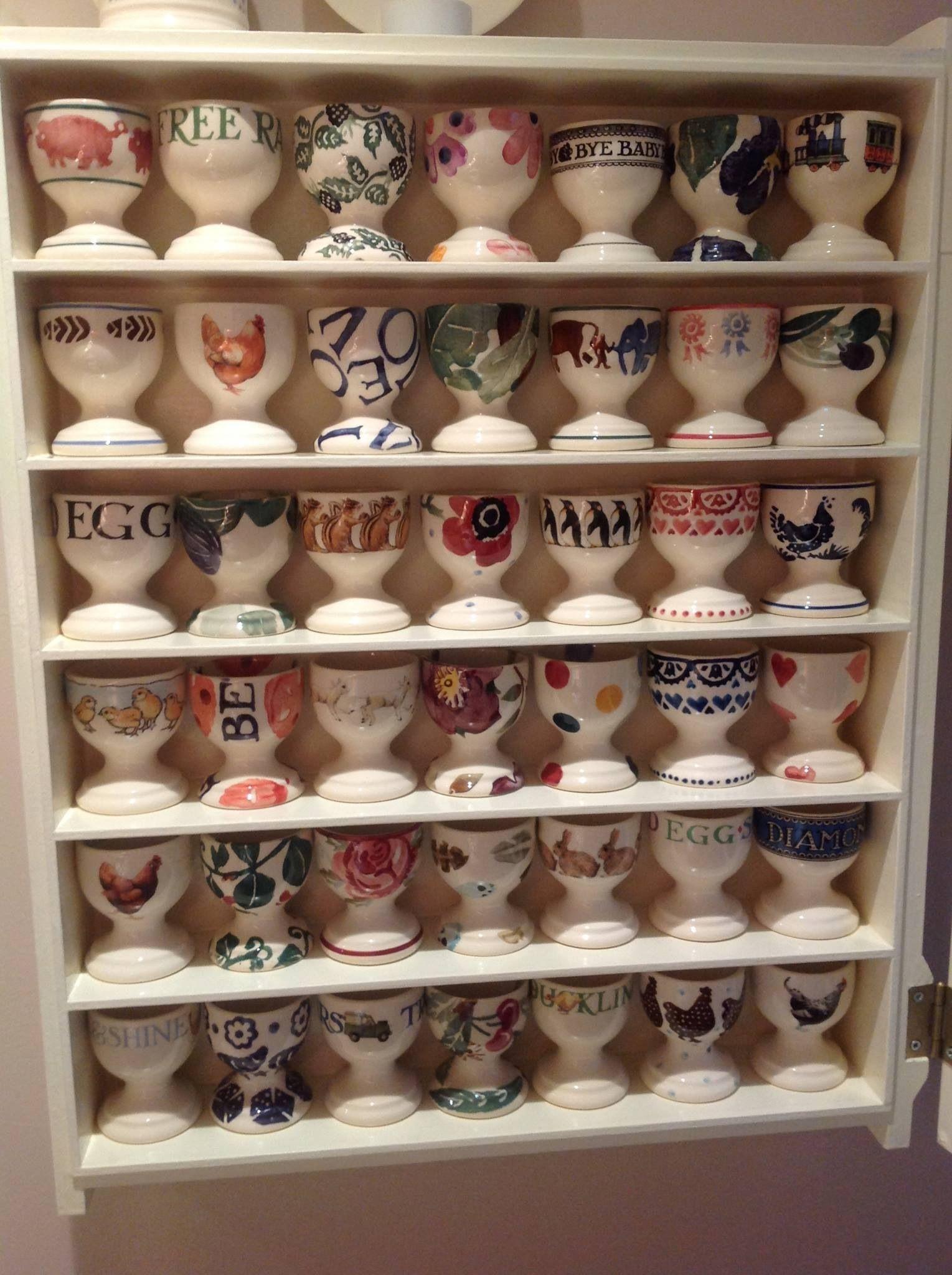 Egg Cup Collection Emma Bridgewater Emma Bridgewater Emma Bridgewater Pottery Vintage Egg Cups
