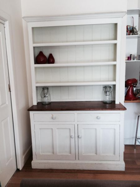 French Provincial Buffet Hutch