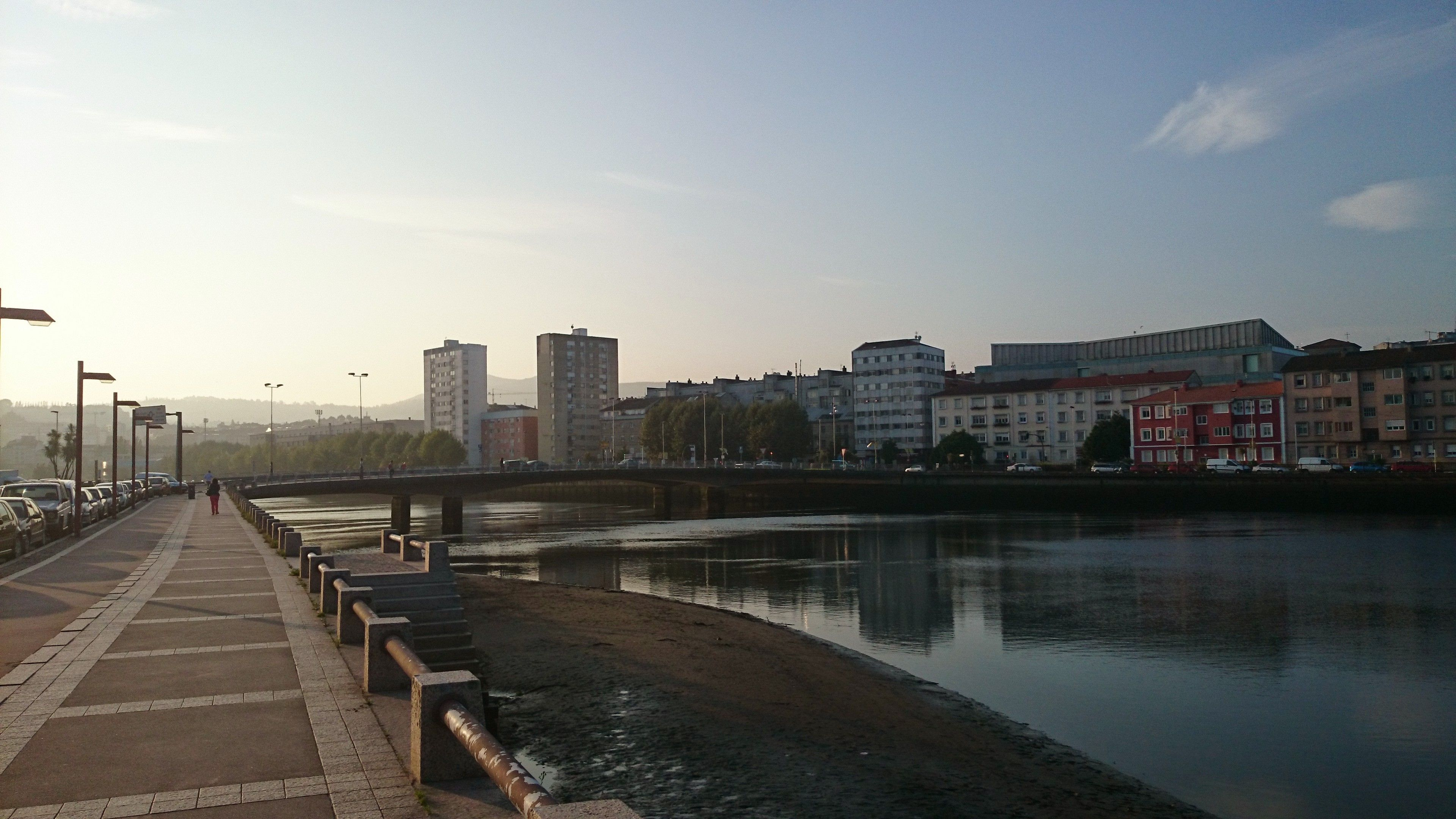 Paseo entre os pontes de Santiago e O Burgo. Pontevedra. 23.9.14
