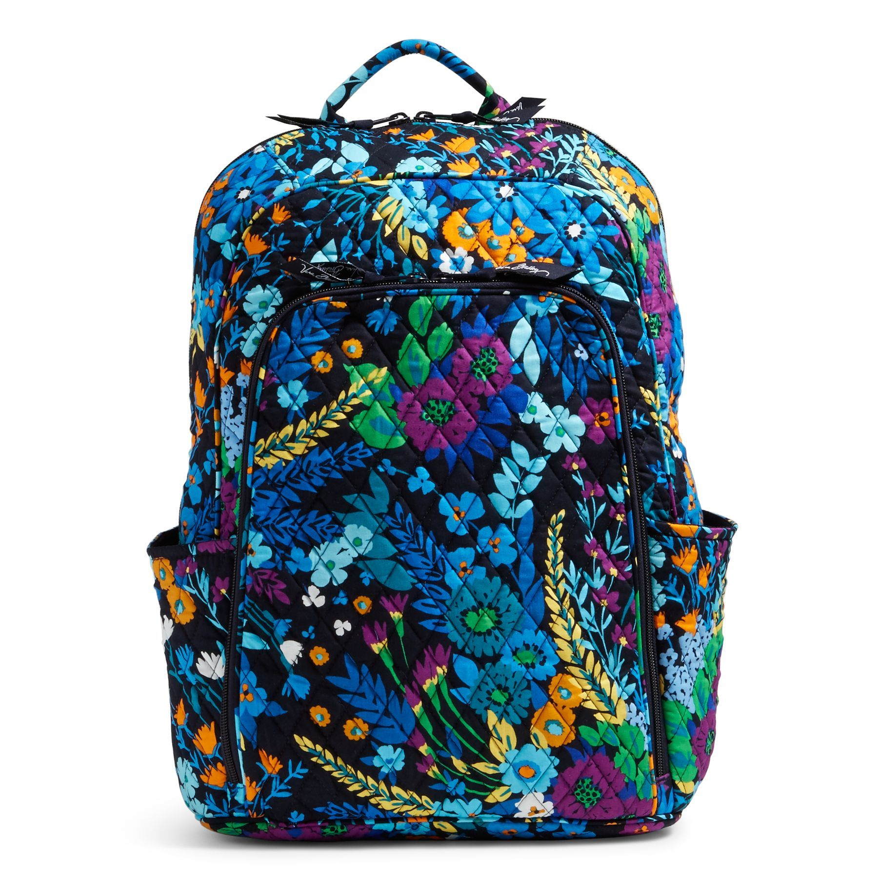 feaf8d1f9b7e Vera-Bradley-Factory-Exclusive-Laptop-Backpack in Midnight Blues