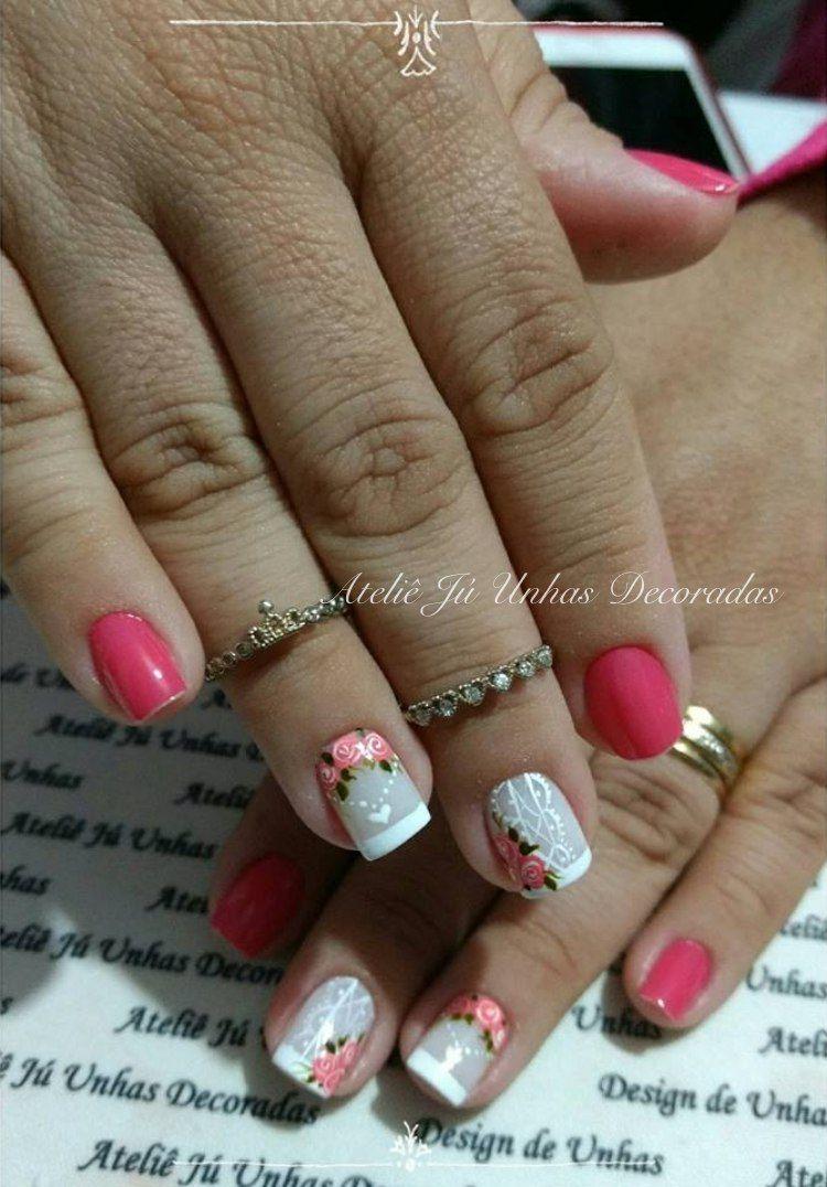 Pin by Zulma Rivera on UÑAS | Pinterest | Manicure