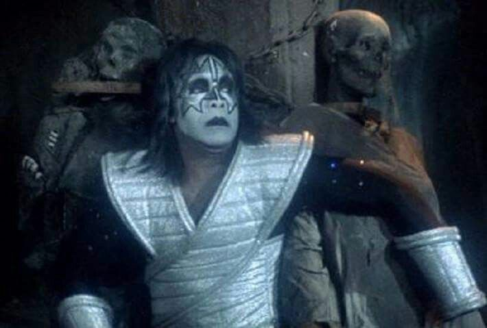 Stunt Double For Ace Frehley For Kiss Meets The Phantom Clearly