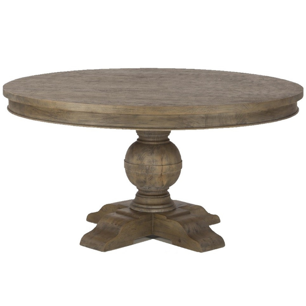 French Urn Solid Wood Pedestal Round Dining Table 72 Round Wood Dining Table Round Pedestal Dining Table Round Pedestal Dining
