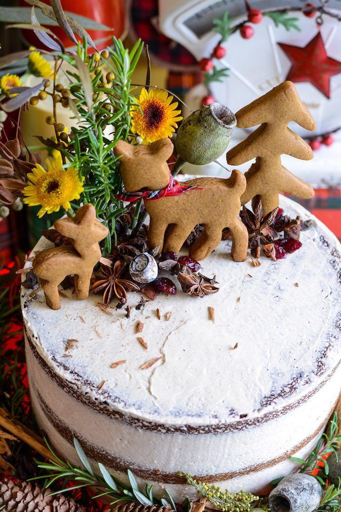 Rustic Australian Christmas Dessert Table Australian