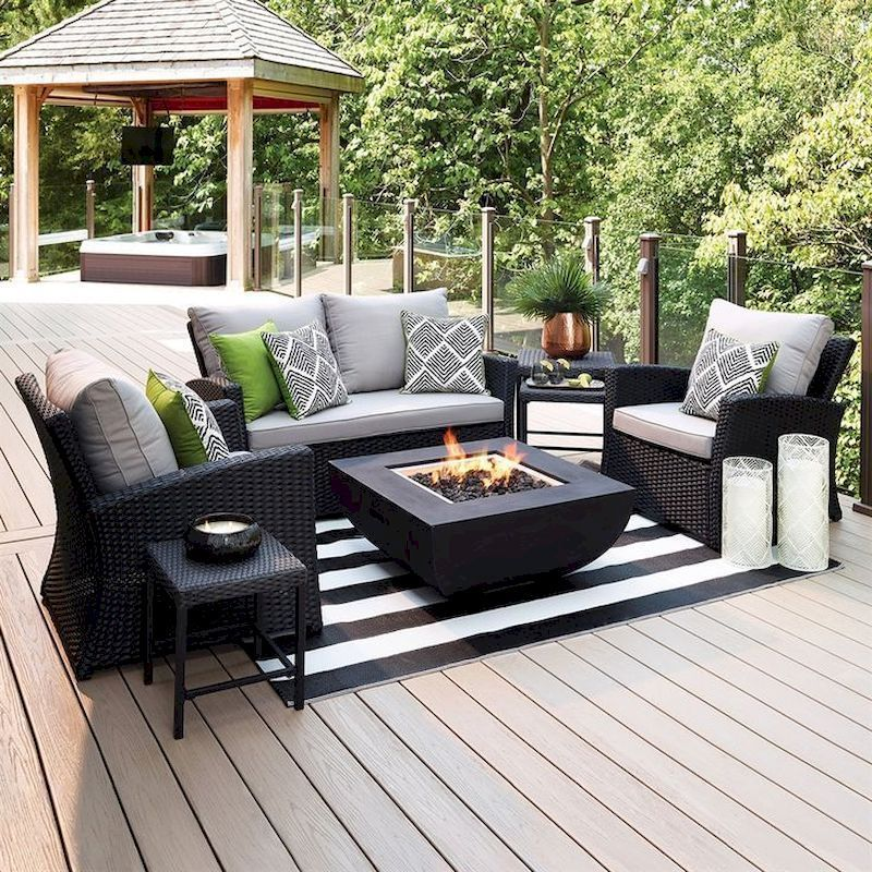 45 Cool Diy Outdoor Couch Ideas To Enjoy Your Relax Moment Outside The House In 2020 Outdoor Patio Furniture Sets Clearance Patio Furniture Conversation Set Patio