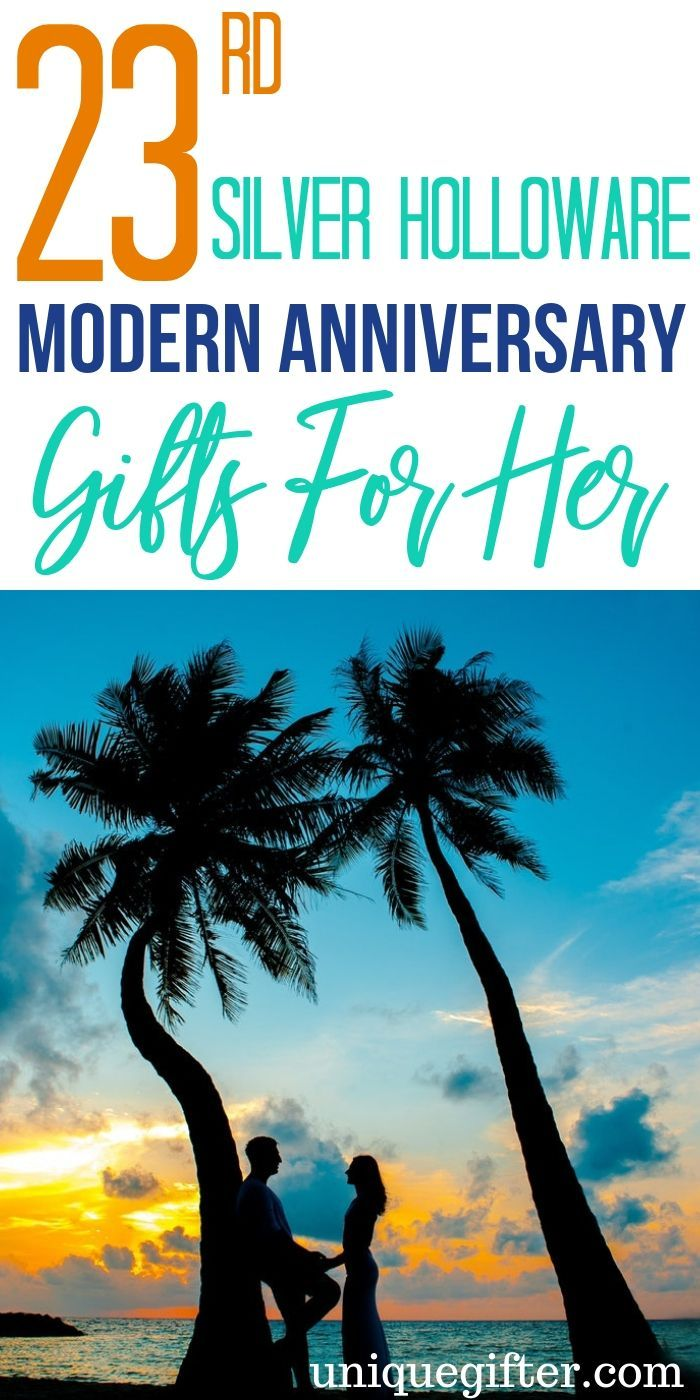 20 16th Silver Holloware Modern Anniversary Gifts for Her