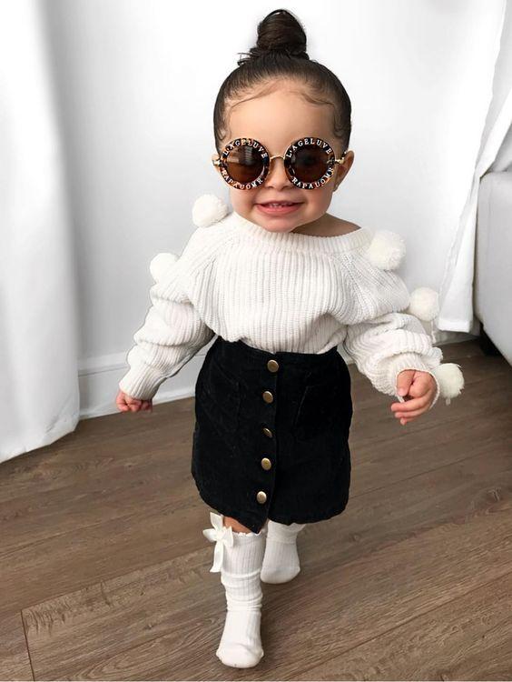 Outfits para que tu nena se vea más chic que Stormi