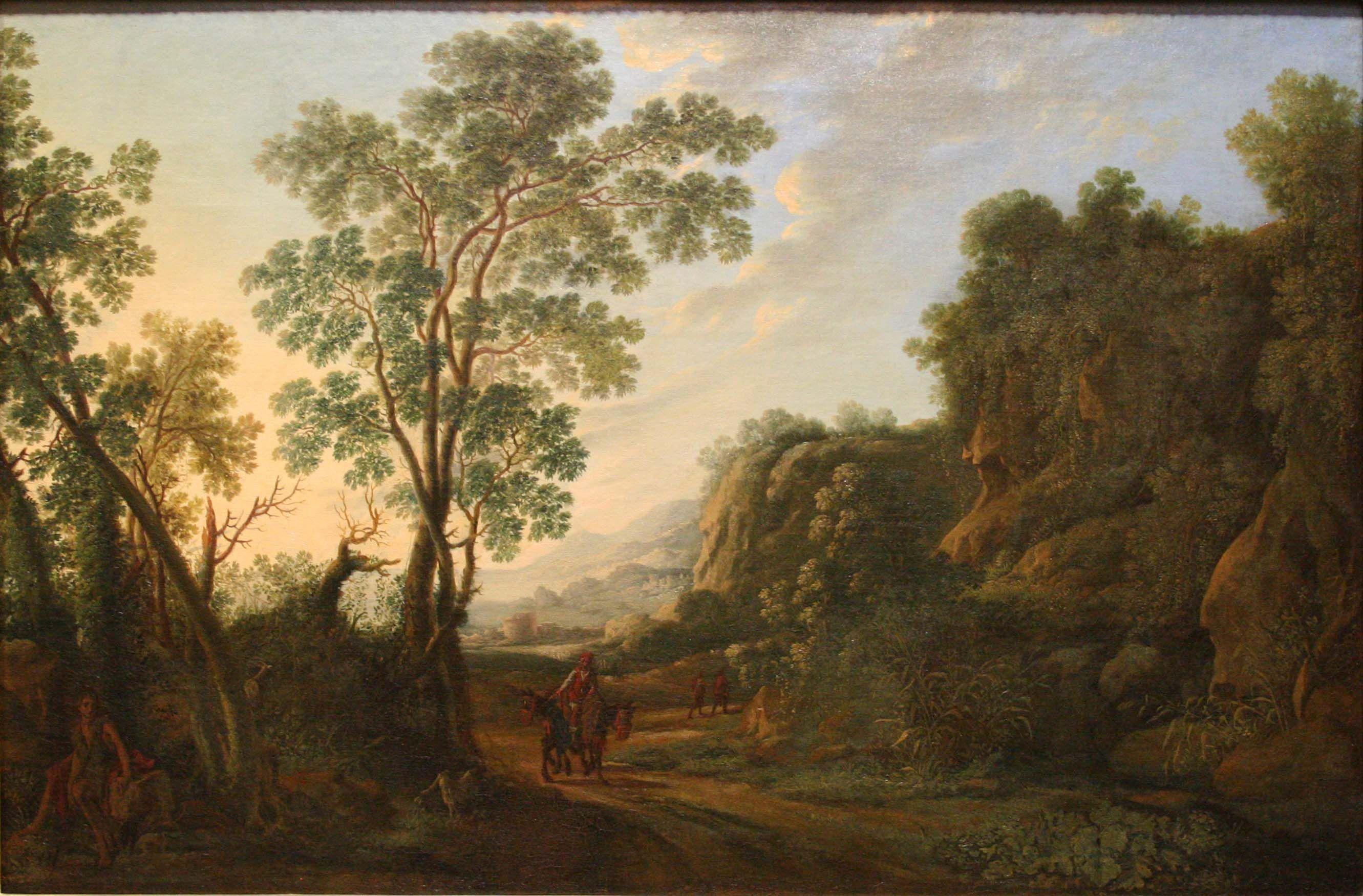 Herman Van Swanevelt Italian Landscape (Mus E Fabre) 1603 1655