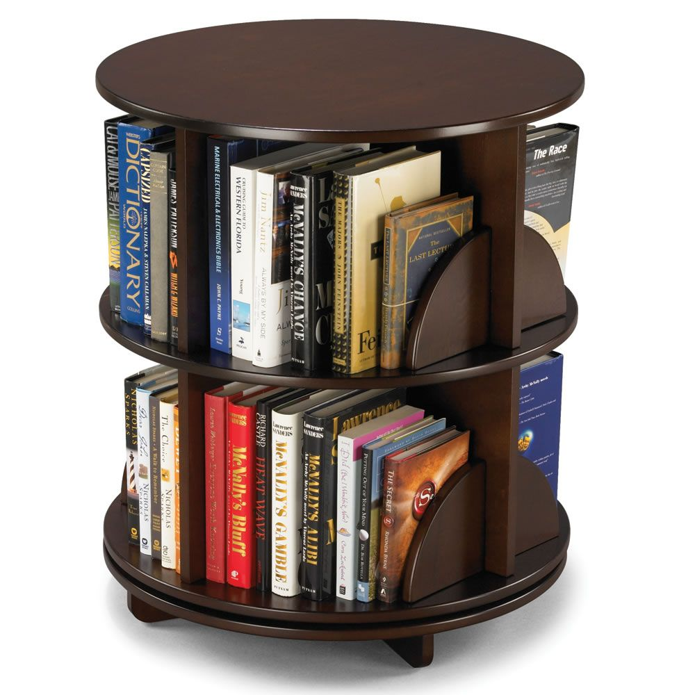 bookcase table end swivel comfortable shelves storages bookcases
