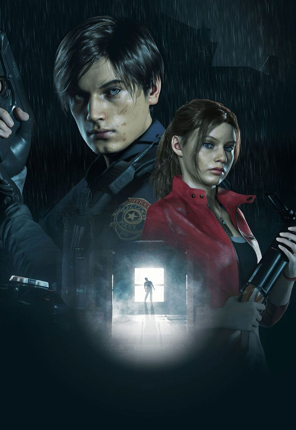 E3 Leon Claire Key Art From Resident Evil 2 2019