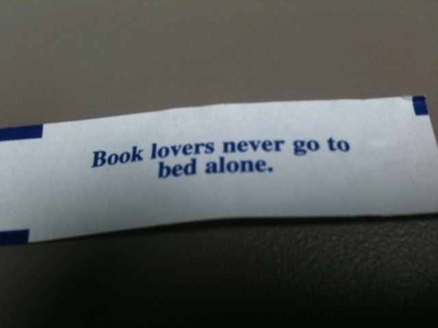 Book lovers never...