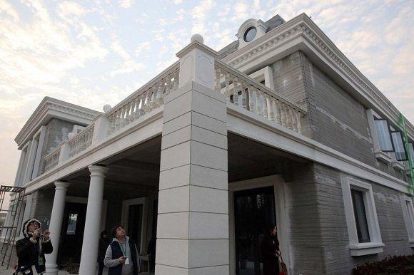 WinSun 3D Prints Six-Story Apartment Building In China