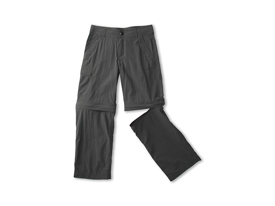 Marmot Kids Cruz Convertible Pant Little KidsBig Kids Slate Grey 2 Boys Casual Pants You know you cant stop him from seeking adventure its in his blood So why not prepare...